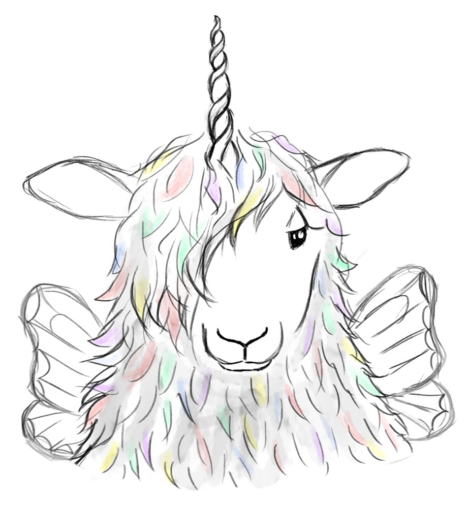 Unicorn-Sheep