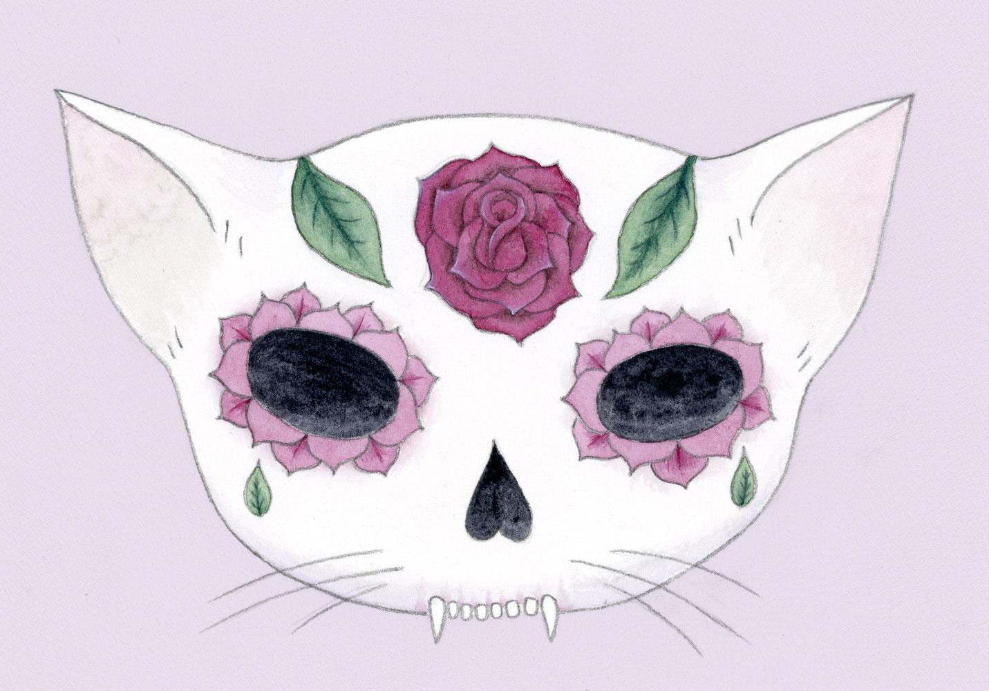 rose-sugar-skull
