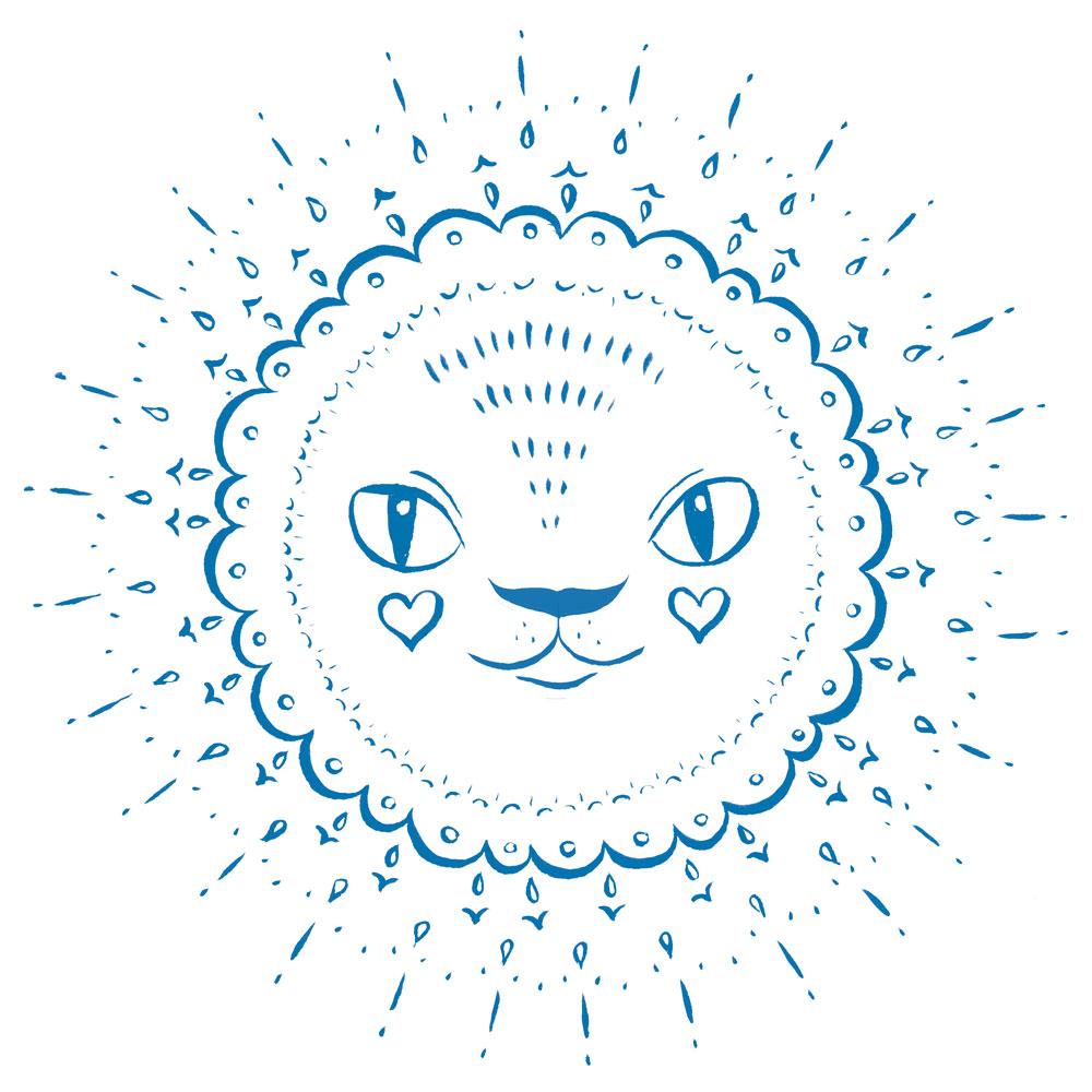 Mandala-Lion