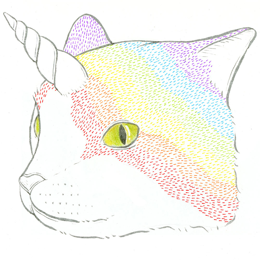 Rainbow-Caticorn