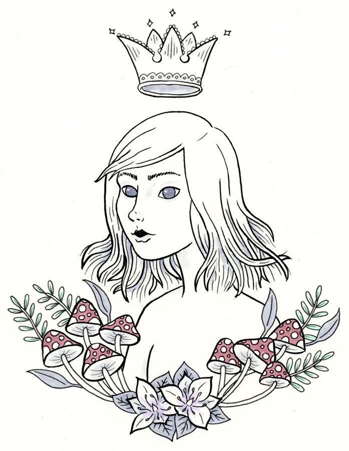 14-Mushroom-Queen