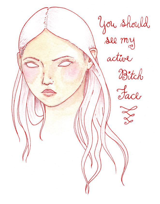 17-bitch-face